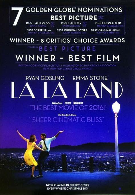 Plakat La La Land by La La Land Original Ds Poster 27x40 D S 2017