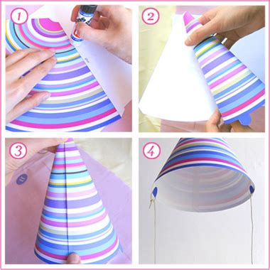 How To Make A Birthday Hat With Paper - paper hat patterns