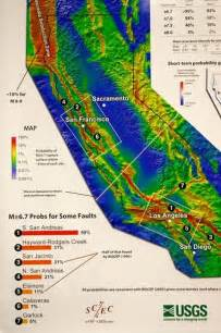 california earthquake map earthquake map california