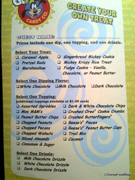 World Kitchen Menu by It S All About The Crispies The Disney Food