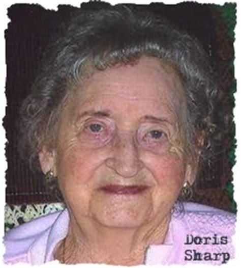 sharp doris harriet 1918 2010