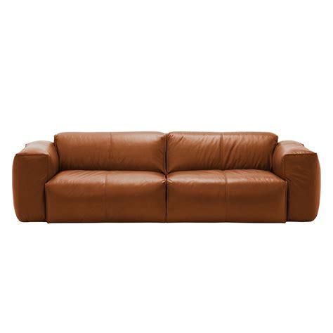 sofa leder leder sofa sofa hudson ii 3 sitzer echtleder fashion for
