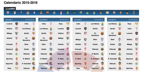 Calendrier Liga Pour Le Real Madrid Calendrier Real Madrid 2015 2016 Search Results