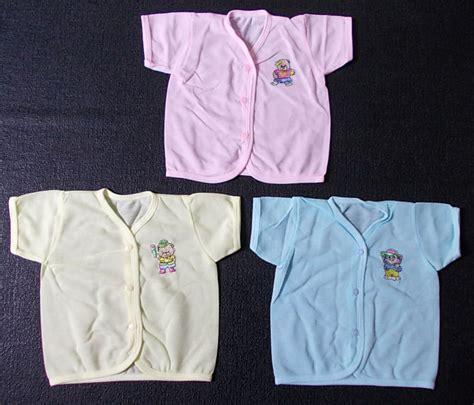Baju Murah 748 baju bayi pe pendek 3 pcs toko perlengkapan bayi baru