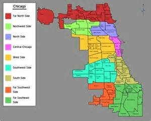 South Side Chicago Map by Talk Chicago Districts Discussion Travel Guide At Wikivoyage