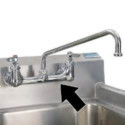 Commercial Kitchen Sink Faucets Advance Tabco Fc 2 1818 24rl Two Compartment Kitchen