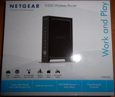 Router Box netgear wnr2000 wireless router review
