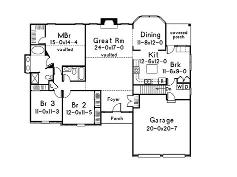houseplans and more mooreland traditional home plan 001d 0013 house plans