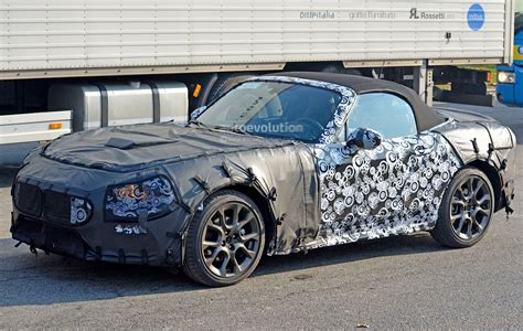 abarth version of fiat 124 spider spied for the