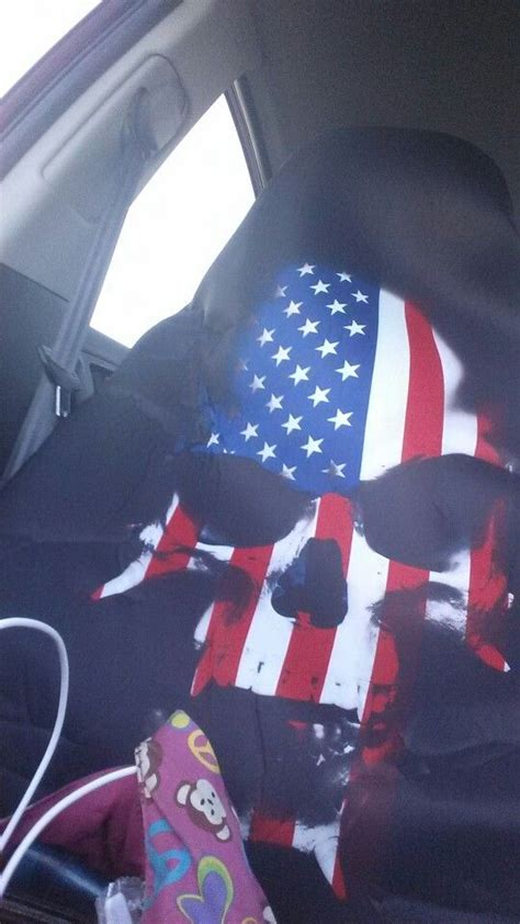 american flag skull seat covers american flag seat covers velcromag