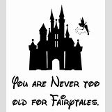 Disney Castle Silhouette With Tinkerbell | 736 x 837 jpeg 36kB