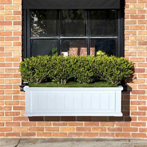 balcony window boxes balcony window box evergreen and grass gardening