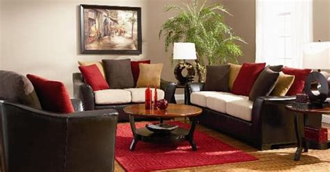 chocolate brown and red living room dark brown red living room colorful pillowsjpg 560372 red