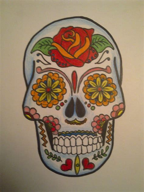 mexican art tattoo designs mexican skulls mexicans skull sugar skull