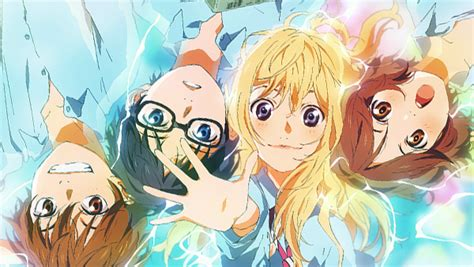 anime your lie in april april is your lie anime trailer released goose house