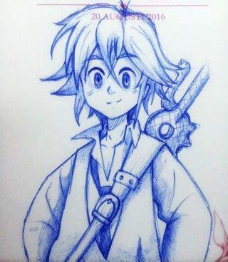 doodle seven deadly sins meliodas drawings on paigeeworld pictures of meliodas