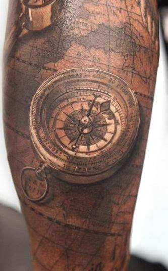 tattoo compass znaczenie kompas na tatuaże zszywka pl