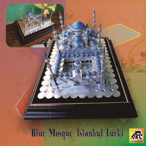 Mahar Uang Cantik mahar pernikahan bentuk blue mosque istambul turkey