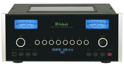 mcintosh  stereo preamp preview avrevcom