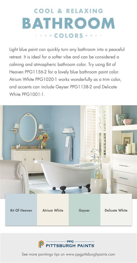 pale blue paint colors create this relaxing bathroom space colors 1000 images about bathroom make over ideas on pinterest