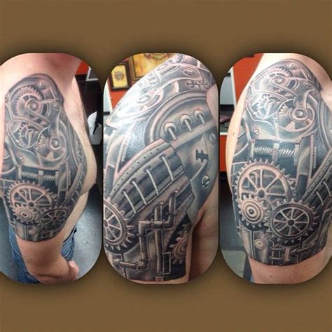 biomechanical tattoo ireland 17 best images about gears on pinterest chest tattoos