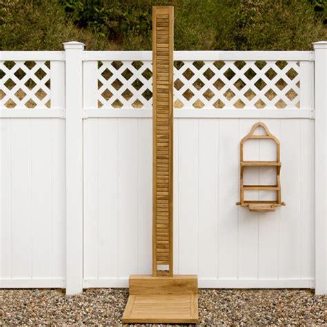 outdoor teak shower teak wood outdoor shower frame contemporary
