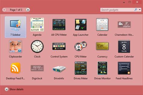 Calendar Update Link Add Desktop Gadget In Windows 8 Or Windows 8 1 The Tech War