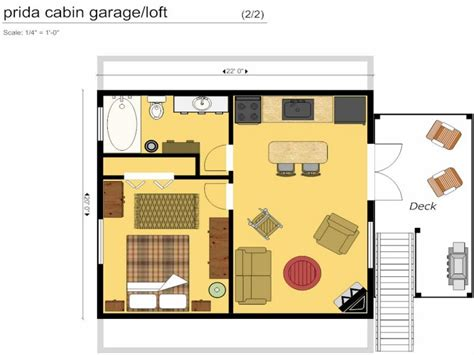 Garages With Lofts Floor Plans by Cabin Floor Plans With Loft Cabin Floor Plan With Garage