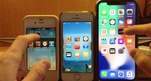 Image result for iphone 5s vs 11. Size: 298 x 160. Source: www.youtube.com
