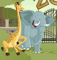 imágenes de jirafas y elefantes colegio moderno la florida la jirafa y el elefante
