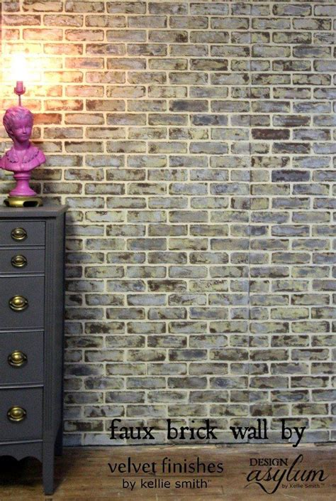 fake exposed brick wall 1000 ideas about brick walls on pinterest interior brick walls faux brick walls and brick