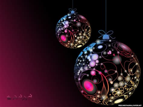 merry christmas ornaments 1024x768 wallpaper