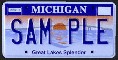 new michigan license plates unveiled photos