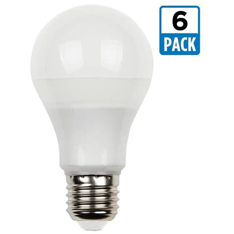 Westinghouse 75w Equivalent Bright White Omni A19 Led Led Light Bulb Pack