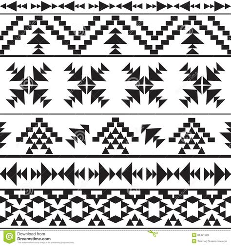 aztec pattern black and white aztec print clipart clipart suggest