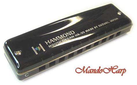 Suzuki Hammond Harmonica Suzuki Harmonica Ha 20 Promaster Hammond Key Of C New
