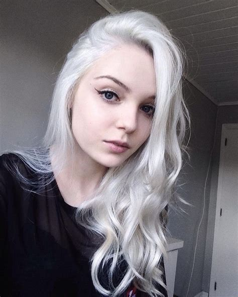 White Hairstyles by Best 25 White Hair Ideas On