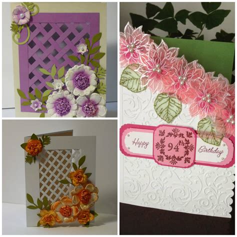 Handmade Flower Cards - handmade cards more photos
