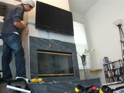 where to put tv how to wall mount tv easy way youtube