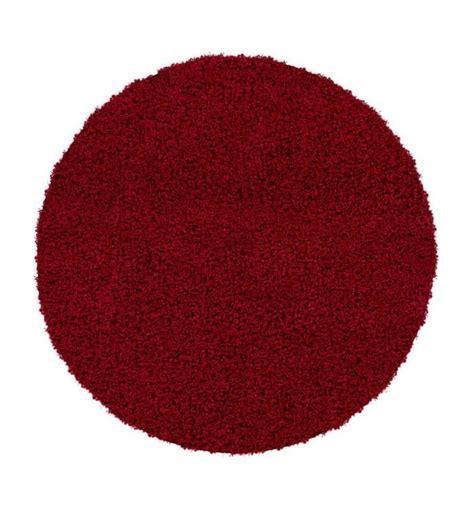 tappeto rotondo rosso tappeto rotondo oslo rosso