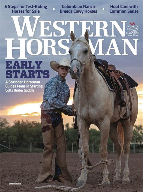 subscribe  renew western horseman magazine subscription