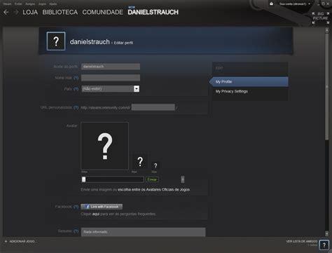 fotos para perfil steam steam como editar o perfil da sua conta no servi 231 o