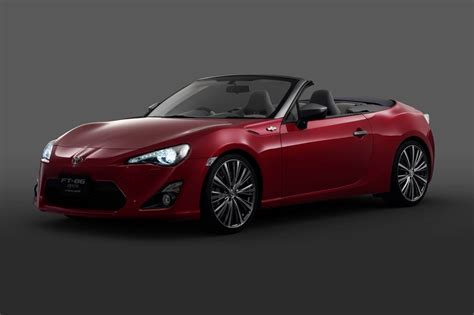 toyota roadster toyota cars news toyota 86 convertible tokyo bound