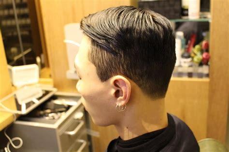 Pomade Undercut clean cut pomade kpop korean hair and style