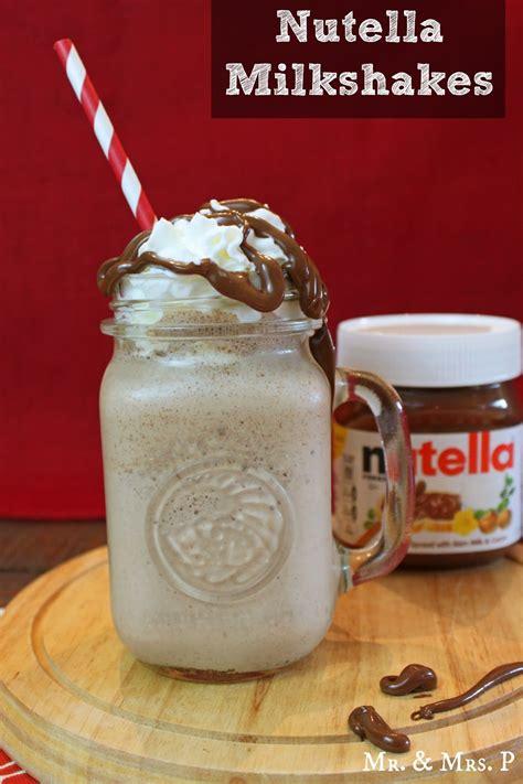 Nutella Milkshake Recipe ? Dishmaps