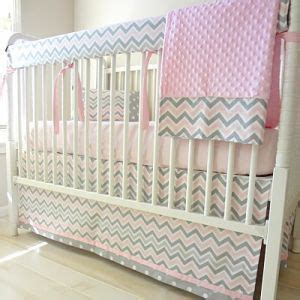 pink and grey chevron baby bedding 35 best images about pink and gray baby bedding on pinterest