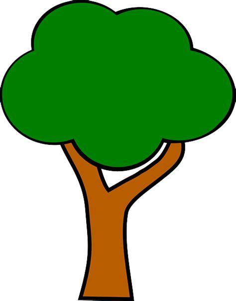 pohon hijau batang gambar vektor gratis  pixabay