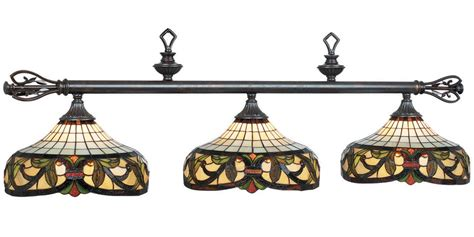 stained glass pool table light harmony stained glass pool table lights with bronze finish
