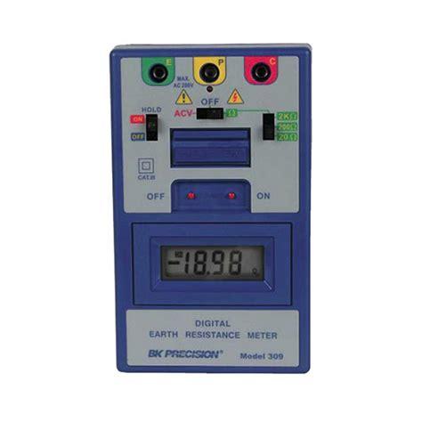 precision resistance meter precision resistance meter 28 images bk precision 309 digital earth resistance meter ebay