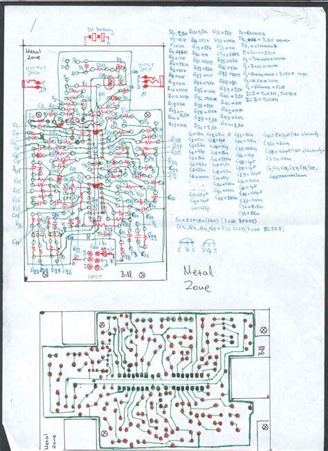 layout efek metal zone boss ge 7 elektroda pl
